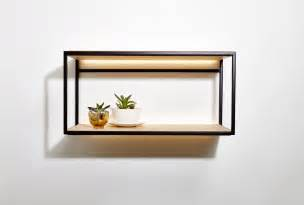 mounted wall shelves beauparlant launches open wall mounted shelves design milk