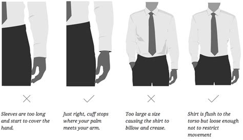 how tight should a collar be a guide to how s clothes should fit business insider