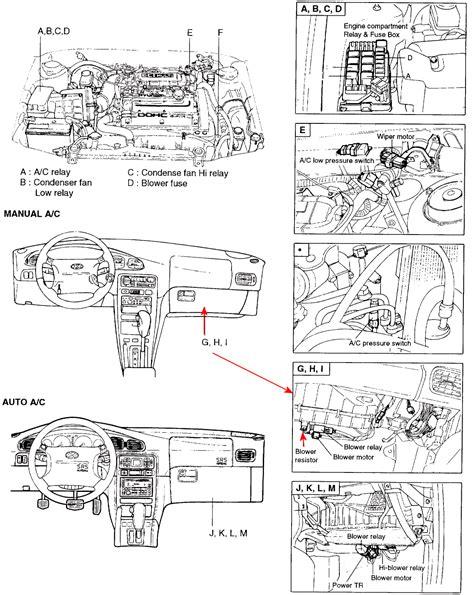 hyundai xg350l blower motor resistor location 1998 hyundai sonata heater motor resistor location