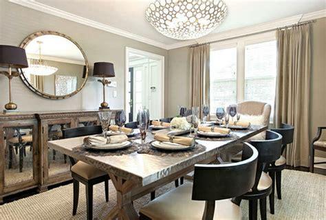 moderne schwarze speisesaal sets esszimmer dekorieren great esszimmer dekorieren photos