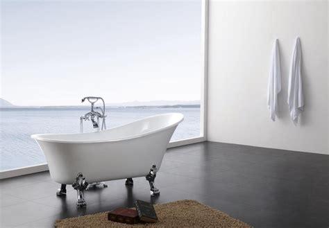 Clawfoot Tub Bathroom Design freistehende badewanne paris acryl bs 830 wei 223