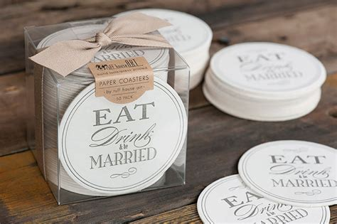 Wedding Advice Coasters by 20 Lovely Wedding Coaster Designs Hongkiat
