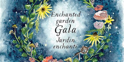 Official Invitation To E Hanted Garden Gala Santropol