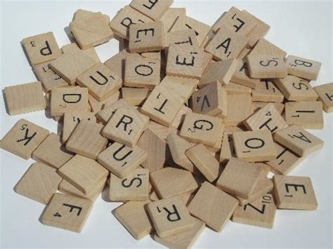 parts of scrabble lot vintage parts and pieces wood checkers