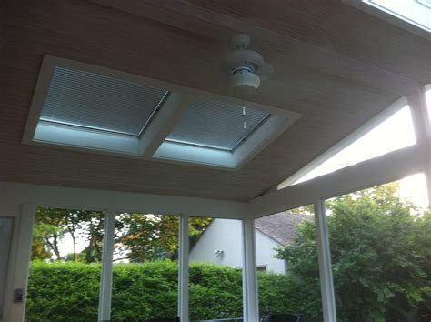 Gabled Ceiling Velux Skylights Columbus Decks Porches And Patios By