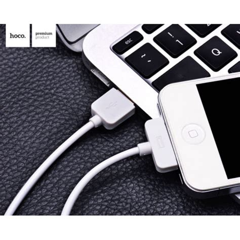 Best Buy Hoco X1 Usb Apple 30 Pin Charging Cable 1m For Iphone hoco x1 usb 30 pin fast charging cab end 6 10 2019 6 04 pm