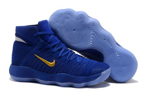 most popular nike basketball shoes most popular nike hyperdunk 2017 flyknit royal blue golden