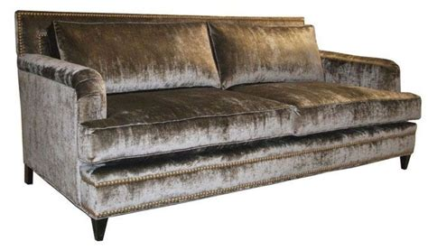 silk sofa music custom silk velvet english arm sofa by access designer