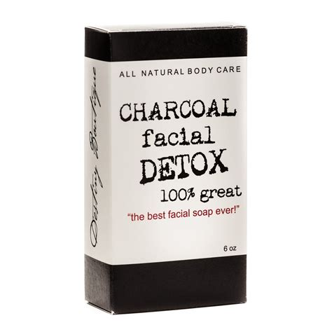 Charcoal Detox Soap Bar by Product