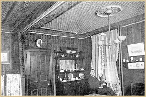 Tin Ceilings History brian greer s tin ceilings the history of tin ceilings