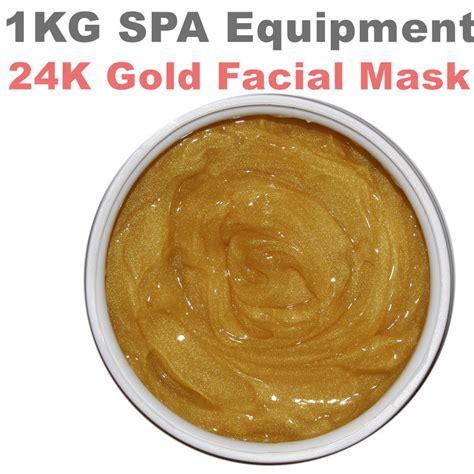 Gold Mask 1kg aliexpress buy 1kg 24k gold mask whitening moisturizing anti wrinkle mask hospital