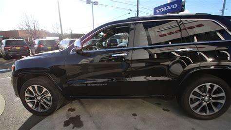 jeep grand 2017 black 2017 jeep grand overland black