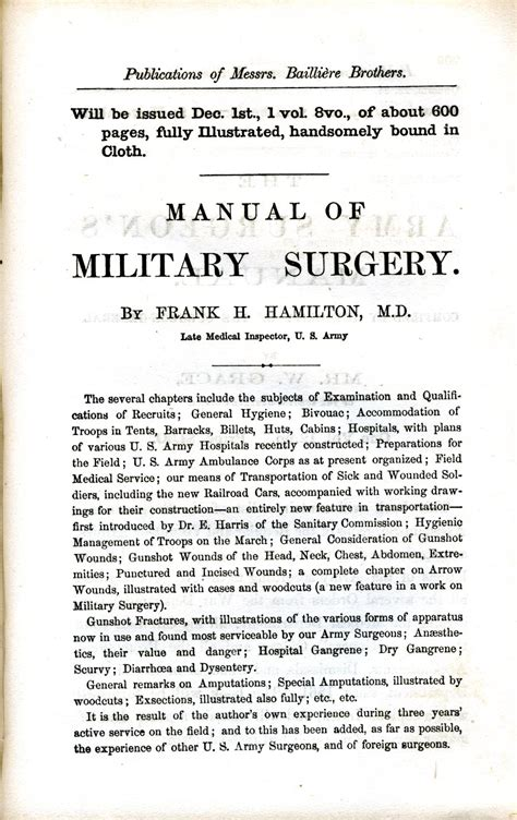 a manual of the operations of surgery for the use of senior students house surgeons and junior practitioners books civil war surgical and books page 1