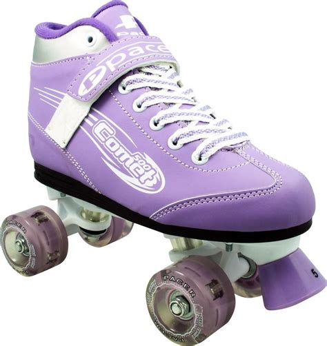 light up roller skates amazon com pacer comet girls light up skates kids