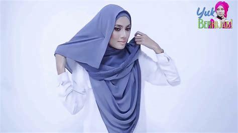tutorial pashmina tutup dada tutorial hijab pashmina simple tutup dada youtube