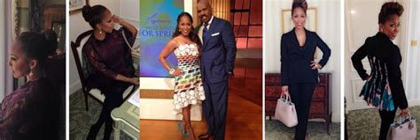 woman on steve harvey show with extensions 17 best images about marjorie harvey on pinterest