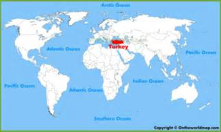 Turkey World Map by Turkey Location On The World Map