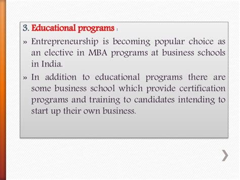 Entrepreneur Mba Colleges In India by Entrepreneurship Development 1
