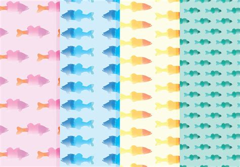 watercolor pattern download vector watercolor fish patterns download free vector art