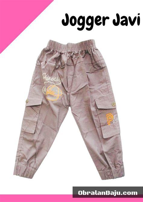 Celana Jogger Katun Murah Minimal Order 3pcs grosir celana jogger anak murah