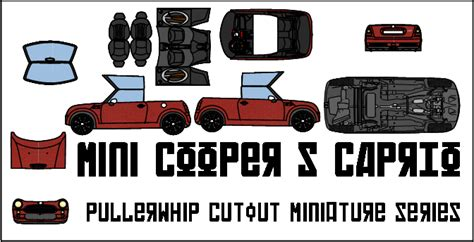 Mini Cooper Papercraft - mini cooper s caprio by pullerwhip on deviantart