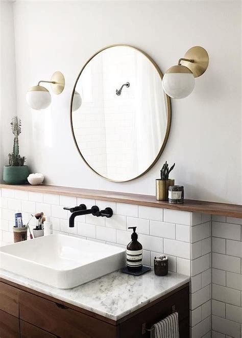brass bathroom mirror 25 best ideas about mirrors on pinterest wall mirrors inspiration wood mirror and