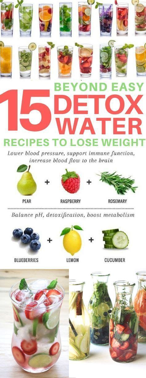 Can Water Fasting Help Detox Dairy by 15 Detox Water Recipes To Help You Lose Weight Fast