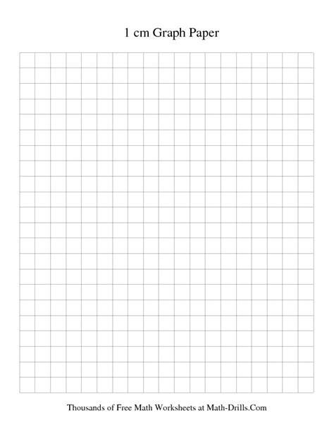 Printable Area Paper   1 cm metric graph paper black printable graph paper math