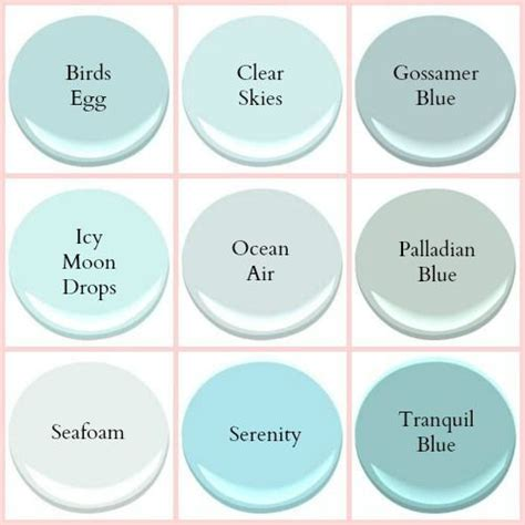 benjamin seafoam coastal paint colors home decor ideas paint colors hue