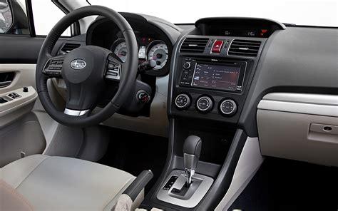 subaru interior 2012 subaru impreza 2 0i sport limited arrival motor trend