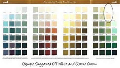 Similiar Olympic Stain Color Chart Keywords