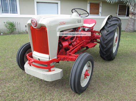 1953 ford 8n golden jubilee 1953 ford jubilee tractor data