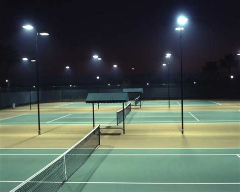 tennis courts with lights tennis court flood lights photos pixelmari com
