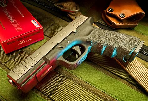 Modification Glock 17 by Custom Glocks Glock Modifications Robar Guns