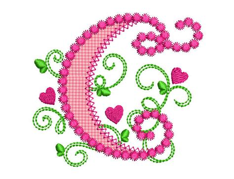 cute alphabet pattern cute letter c alphabet for lil princess hearts applique