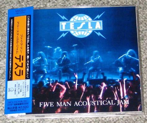 Tesla Song Acoustic Tesla Five Acoustical Jam Records Lps Vinyl And Cds