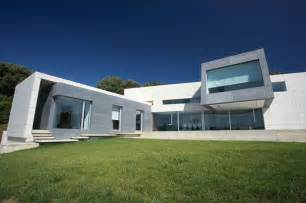 contemporary style houses contemporary style concrete house santander house by a cero digsdigs