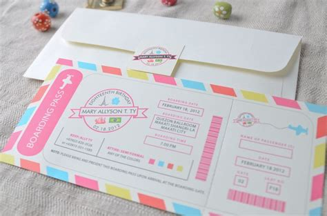 design of invitation card for debut 9 best debut invitations exles images on pinterest