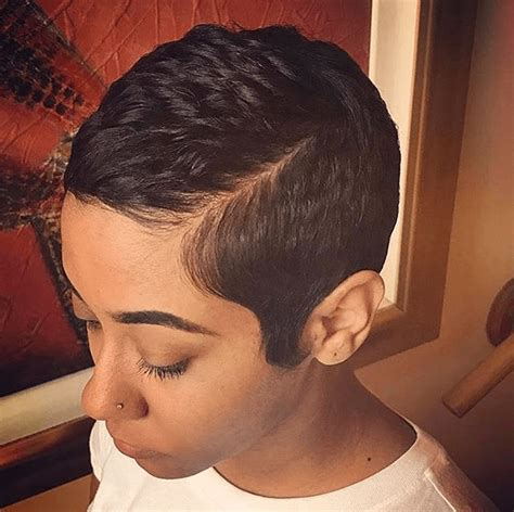 sharp looking short hair cut for black women short hair styles for black women toodle hub