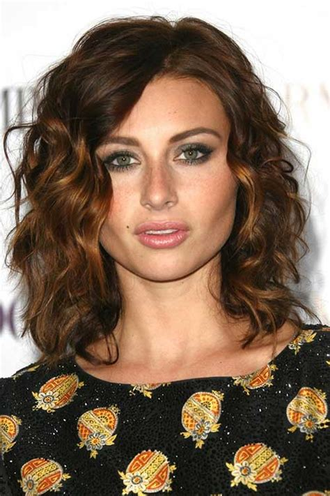 Medium Curled Hairstyles by Medium Curly Hairstyles Hairstyles 2017