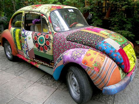 Decorated Vw Beetle by Will Save Vintage Volkswagen Decorated With Will Save