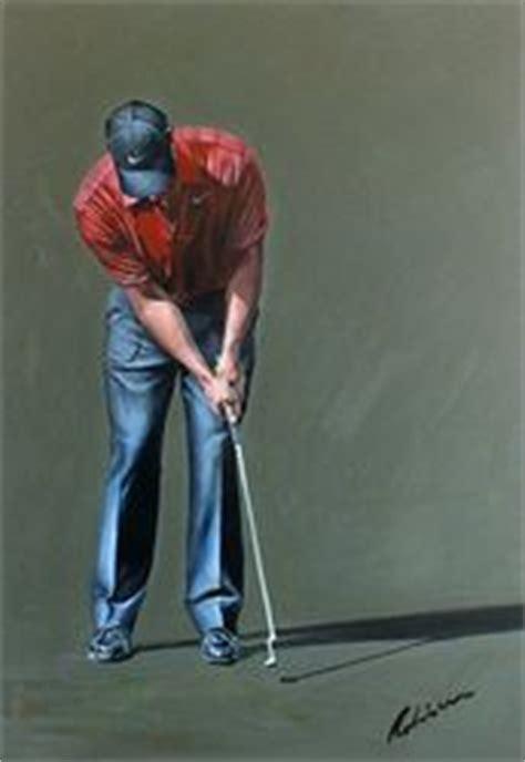 tiger woods swing portrait 1000 images about tiger woods paintings on pinterest
