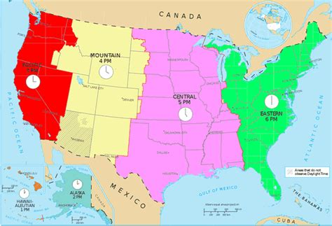 usa time zone map gmt how to set your correct time zone in gps track manager