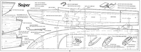 sniper plans aerofred   model airplane plans