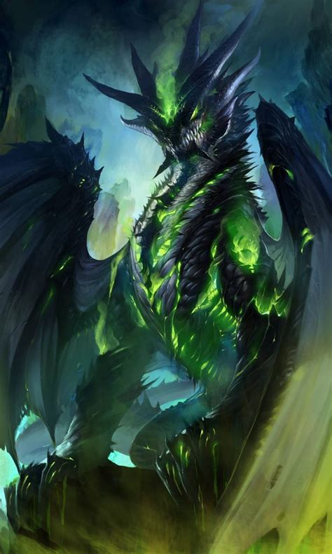 green fire dragon wallpaper  abyssaldragon bb