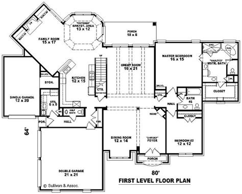 westfield 2194 square foot two story floor plan french country house plans home design su b2541 1311