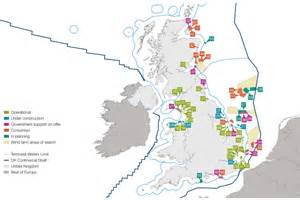 wind farms map uk offshore wind opportunities for trade and investment