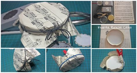 decorare i tappi dei barattoli come rivestire i tappi dei barattoli di vetro