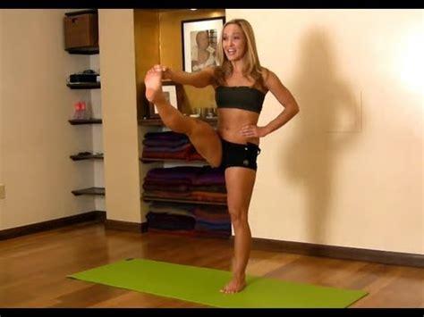 ashtanga yoga tutorial with kino yoga for beginners utthita hasta padangusthasana from