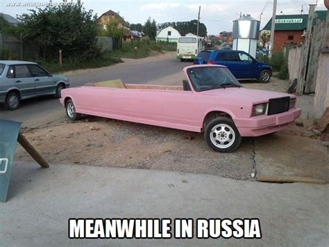Russian Car Meme - meanwhile in russia what s meme